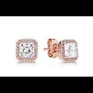 Pandora Jewelry - Pandora Rose Timeless Elegance Earrings